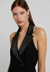 Adrianna Papell - CREPE TUXEDO DRESS - Occasion wear - black - 5