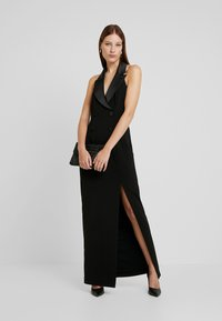 Adrianna Papell - CREPE TUXEDO DRESS - Occasion wear - black - 2