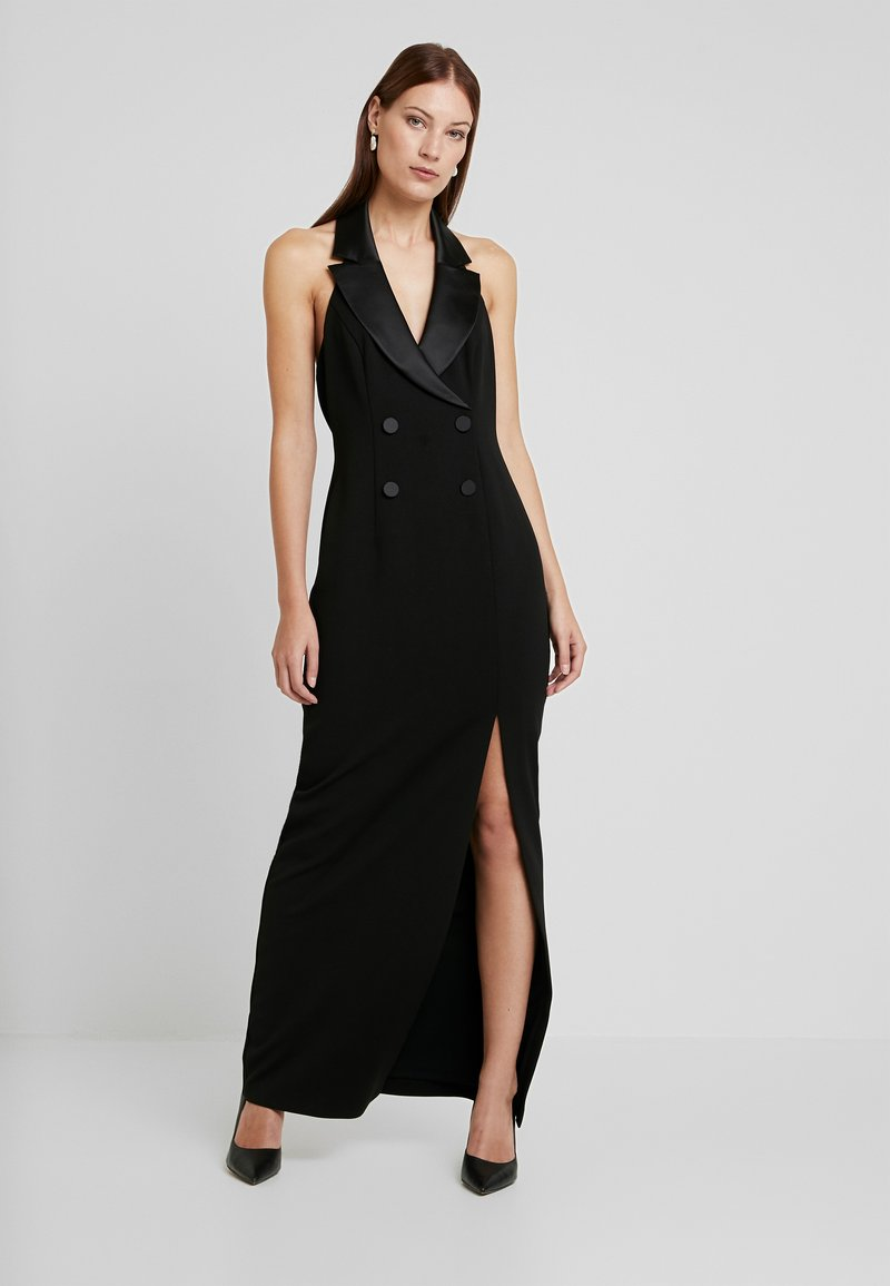 Adrianna Papell - CREPE TUXEDO DRESS - Occasion wear - black
