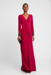Adrianna Papell - DRAPED GOWN - Occasion wear - red plum - 2