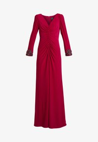 Adrianna Papell - DRAPED GOWN - Occasion wear - red plum - 5