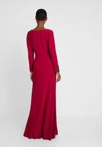 Adrianna Papell - DRAPED GOWN - Occasion wear - red plum - 3
