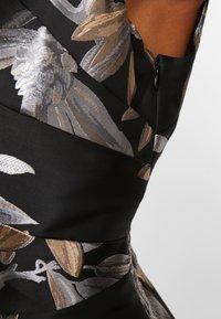 Adrianna Papell - SHORT DRESS - Koktejlové šaty/ šaty na párty - black/champagne - 5