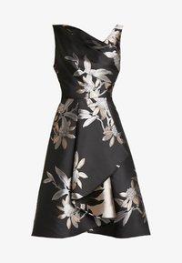 Adrianna Papell - SHORT DRESS - Koktejlové šaty/ šaty na párty - black/champagne - 6