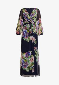 Adrianna Papell - FLORAL PRINTED GOWN - Ballkleid - navy multi - 5