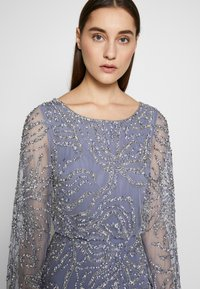 Adrianna Papell - BEADED BLOUSON GOWN - Occasion wear - cool wisteria - 3