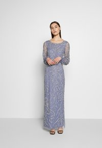 Adrianna Papell - BEADED BLOUSON GOWN - Occasion wear - cool wisteria - 1