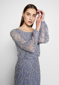 Adrianna Papell - BEADED BLOUSON GOWN - Occasion wear - cool wisteria - 4
