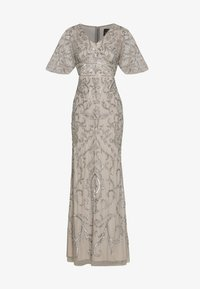 Adrianna Papell - BEADED MERMAID GOWN - Occasion wear - platinum - 4