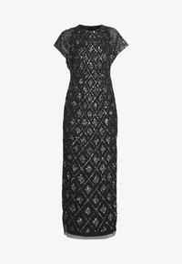 Adrianna Papell - LONG BEADED DRESS - Iltapuku - black - 3
