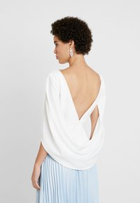 Adrianna Papell - COWL CAPE TOP - Bluser - ivory - 2