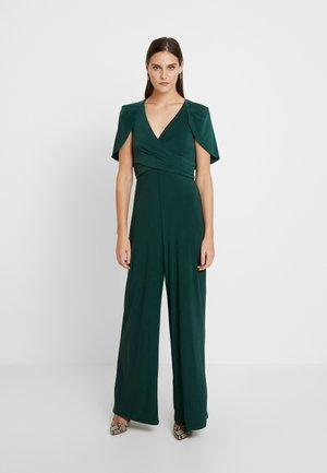 DRAPED JUMPSUIT - Tuta jumpsuit - dusty emerald