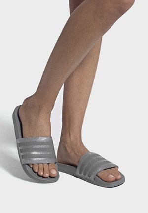 ADILETTE COMFORT - Pool slides - grey