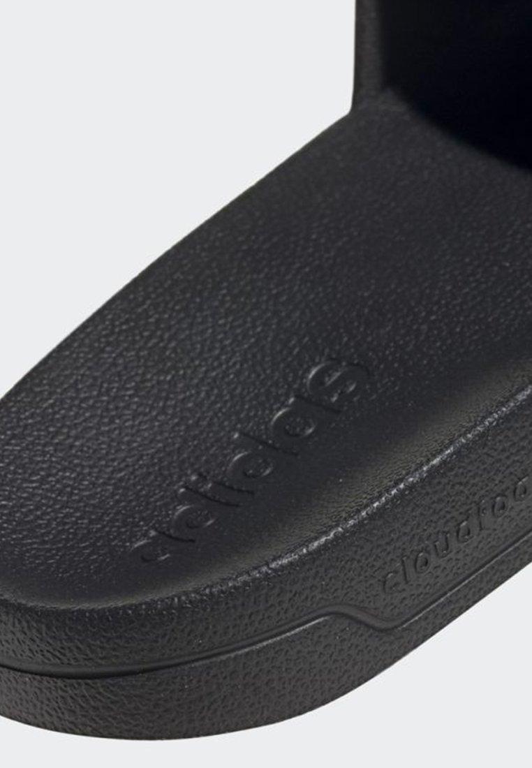 adidas Performance ADILETTE SHOWER SLIDES - Sandały kąpielowe - black