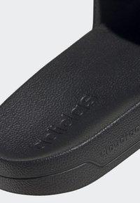 adidas Performance - ADILETTE SHOWER SLIDES - Badslippers - black - 7