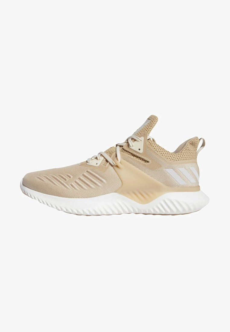 ALPHABOUNCE BEYOND SHOES - Neutral running shoes - white/beige