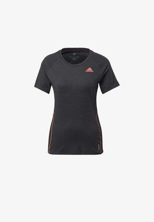 Runner  - T-shirt z nadrukiem - Black