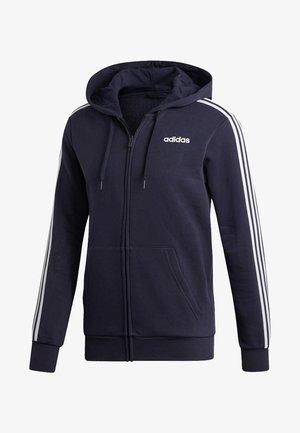 ESSENTIALS 3 -STREIFEN - veste en sweat zippée - dark blue