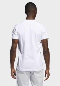 adidas Performance - DAME  - T-shirts med print - white - 1