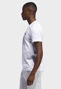adidas Performance - DAME  - T-shirts med print - white - 3