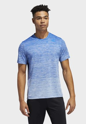 TECH GRADIENT T-SHIRT - Printtipaita - blue