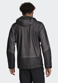 adidas Performance - TERREX PRIMEKNIT RAIN JACKET - Waterproof jacket - black - 2
