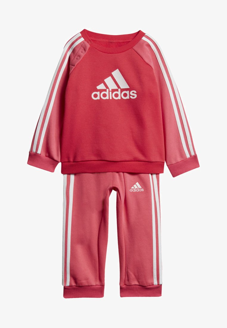 adidas Performance - LOGO FLEECE JOGGER SET - Sweatshirt - pink