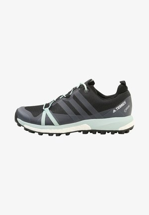 TERREX AGRAVIC GTX  - Trail running shoes - carbon/grey heather/ash green