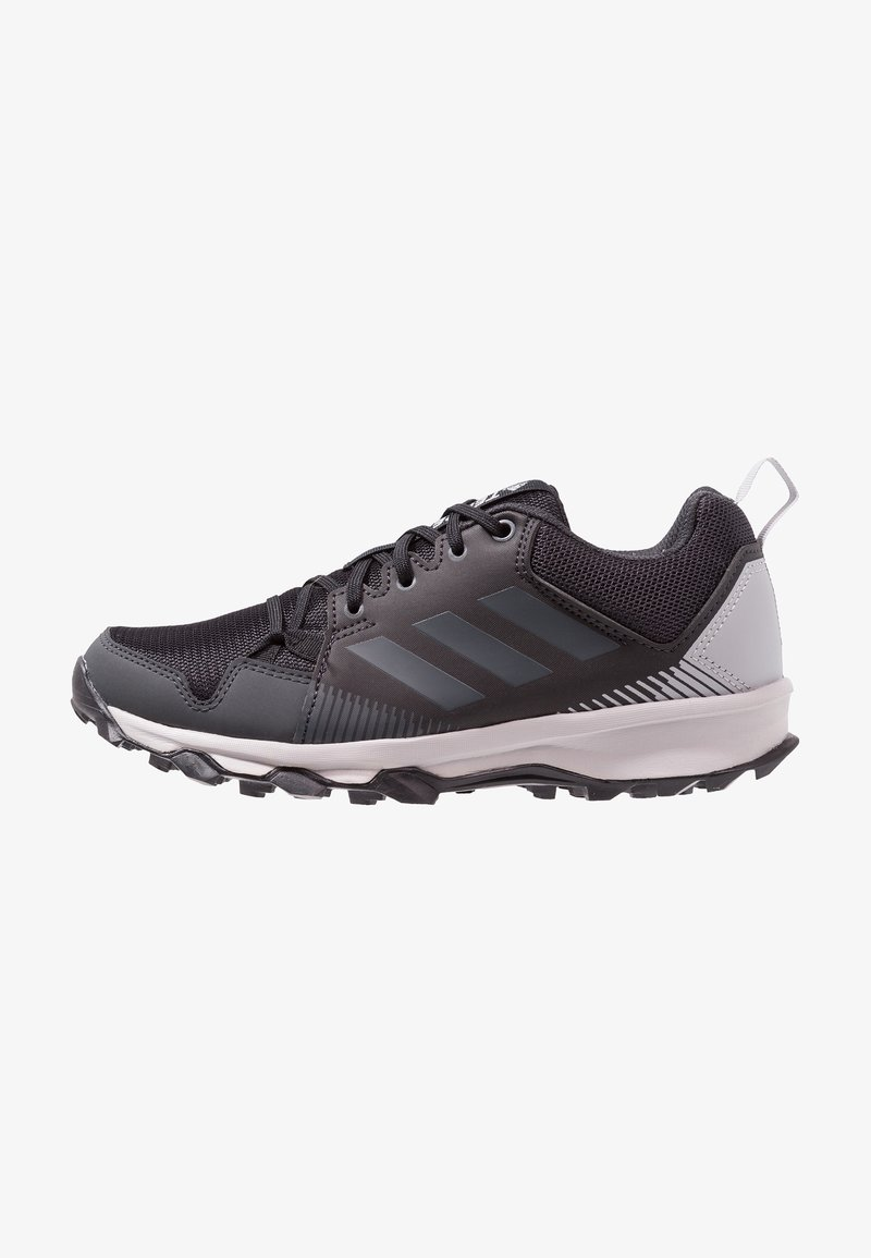 adidas Performance - TERREX TRACEROCKER TRAIL RUNNING SHOES - Trail running shoes - core black/carbon/ash green