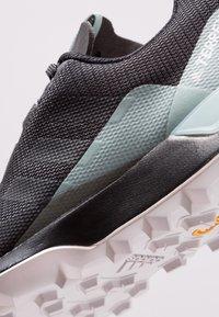 adidas Performance - TERREX CMTK GORE TEX  - Trail running shoes - carbon/core black/ash green - 5