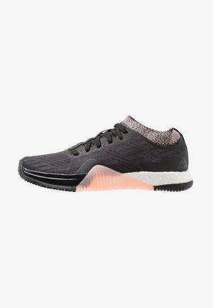CRAZYTRAIN ELITE - Sports shoes - core black/carbon/clear orange