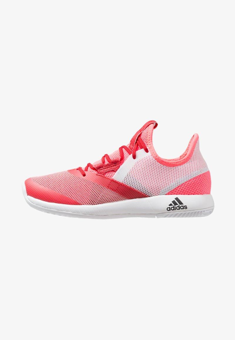 adidas Performance - ADIZERO DEFIANT BOUNCE  - da tennis per terra battuta - flash red/footwear white/scarlet
