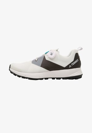 TERREX TWO BOA TRAIL RUNNING SHOES - Trail running shoes - white/clear/black