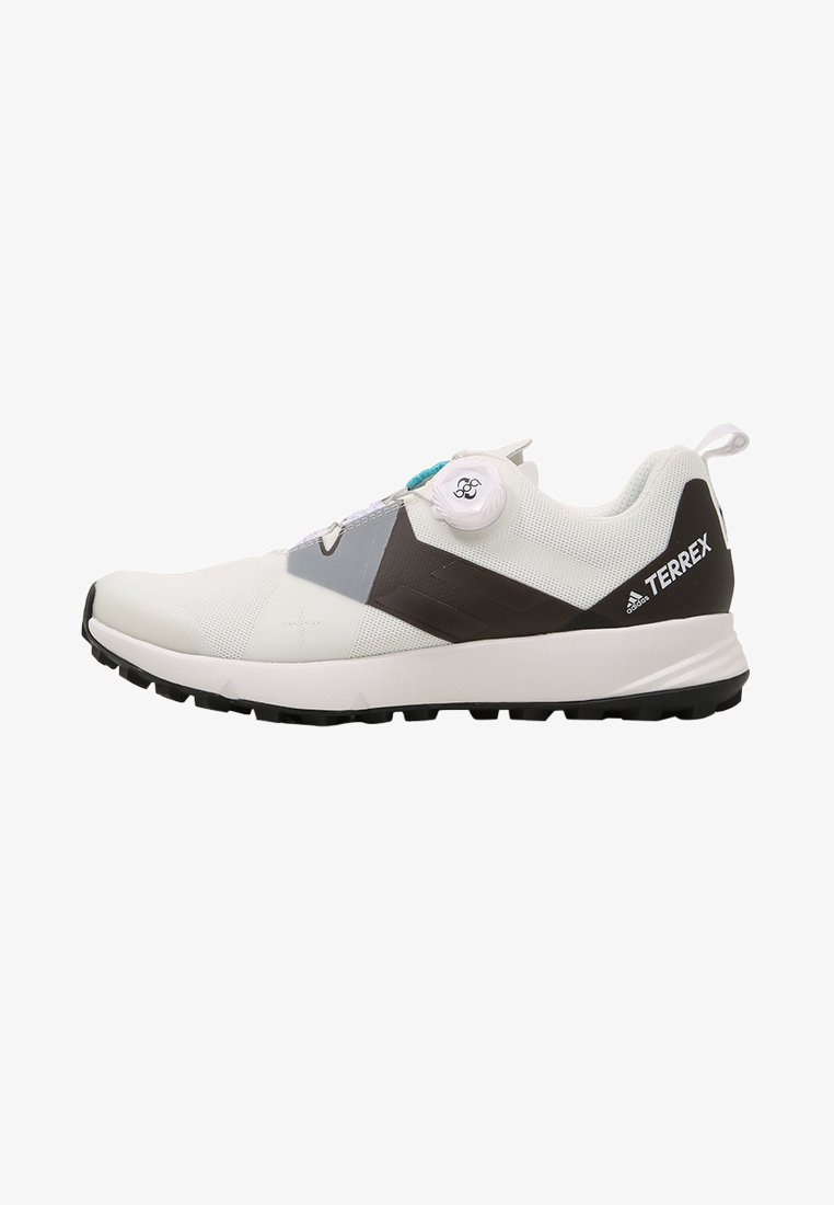adidas Performance - TERREX TWO BOA TRAIL RUNNING SHOES - Zapatillas de trail running - white/clear/black