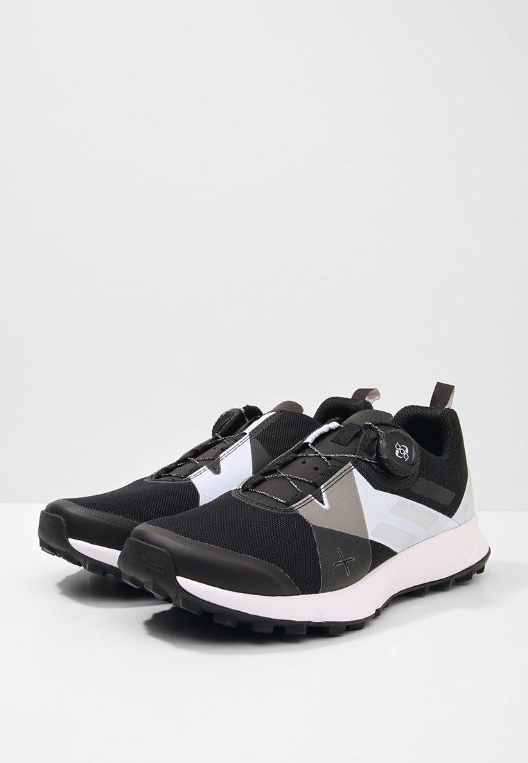 Adidas Performance Terrex Two Boa Trail Running Shoes - Scarpe Da Black/clear/white X8EWCDA