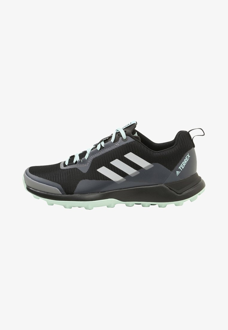 adidas Performance - TERREX CMTK  - Trail running shoes - black/white/ash green