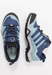 adidas Performance - TERREX SWIFT R2 GTX  - Hiking shoes - tech indigo/ash grey/green tint - 1