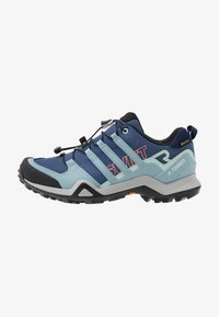 adidas Performance - TERREX SWIFT R2 GTX  - Hiking shoes - tech indigo/ash grey/green tint - 0