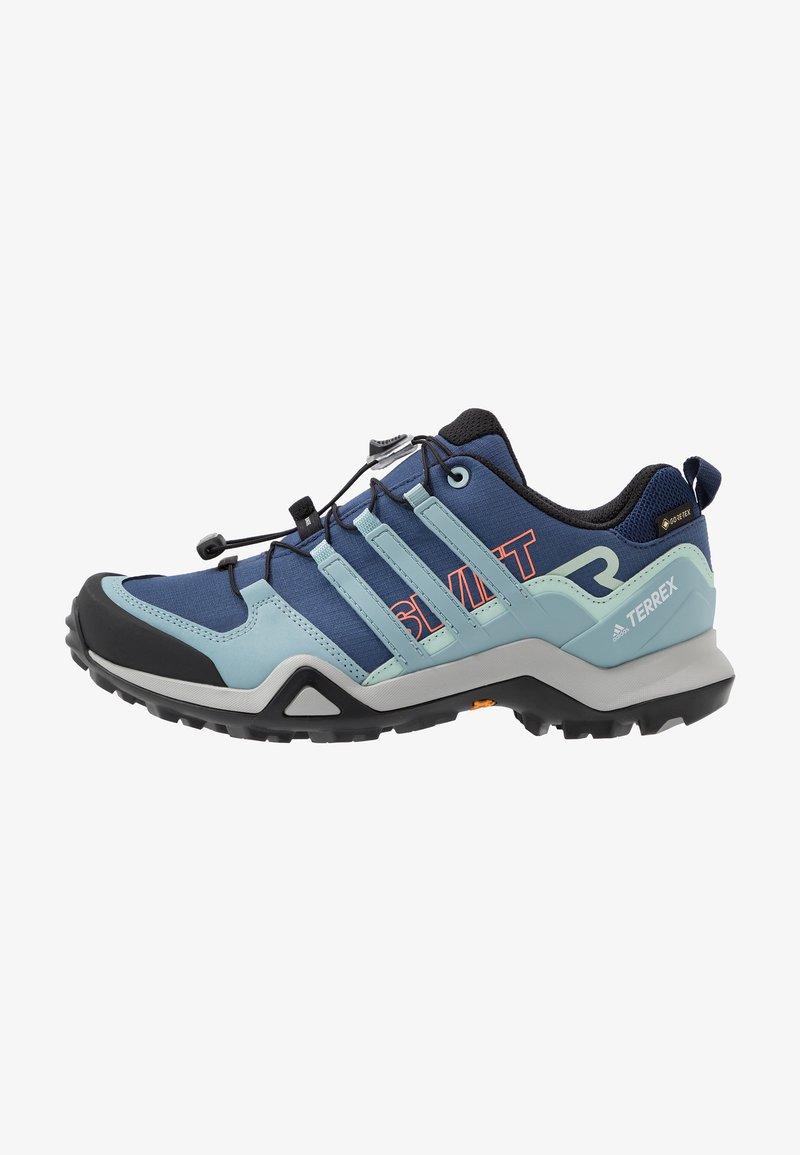 adidas Performance - TERREX SWIFT R2 GTX  - Hiking shoes - tech indigo/ash grey/green tint