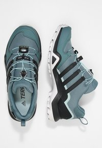 adidas Performance - TERREX SWIFT R2 GORE-TEX - Chaussures de marche - rawgreen/carbon/ashgreen - 1