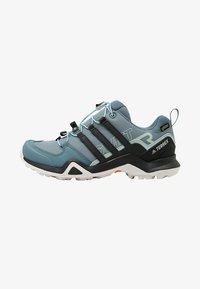 adidas Performance - TERREX SWIFT R2 GORE-TEX - Chaussures de marche - rawgreen/carbon/ashgreen - 0