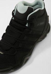 adidas Performance - TERREX AX2R MID GTX  - Hiking shoes - black/ashgreen - 5