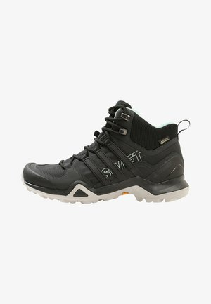 TERREX SWIFT R2 MID GTX W - Chaussures de marche - core black/ash green