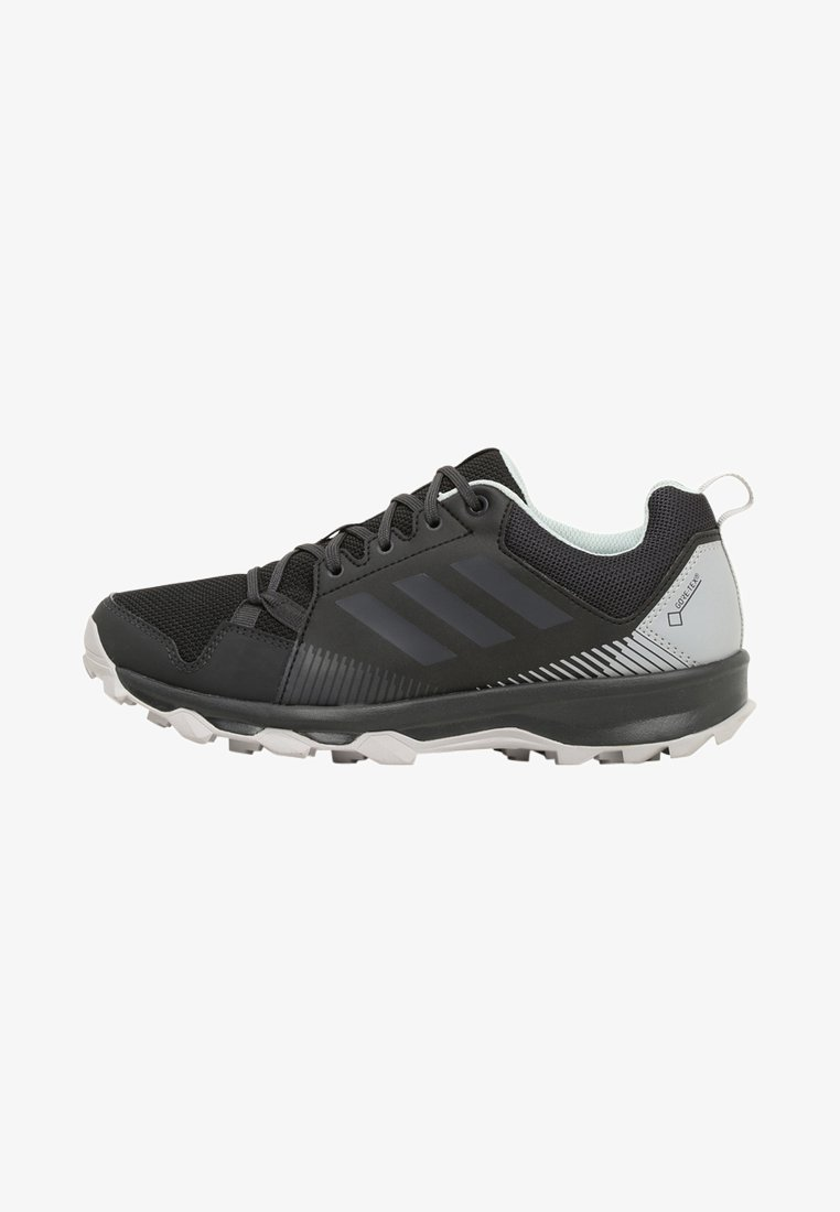 adidas Performance - TERREX TRACEROCKER GORE TEX - Trail running shoes - black/carbon/ashgreen