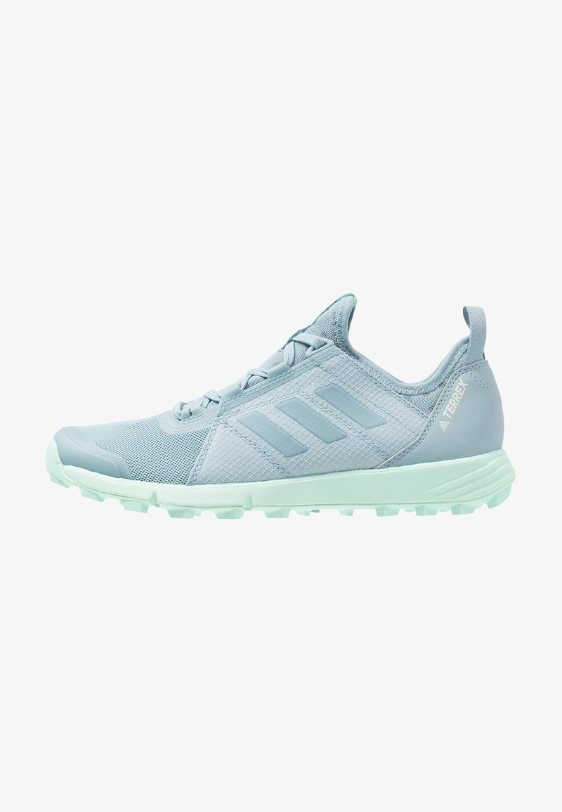 adidas Performance - TERREX SPEED - Trail running shoes - ash grey/clear mint