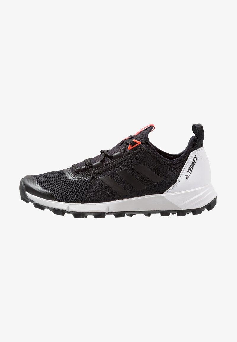 adidas Performance - TERREX SPEED - Trail running shoes - core black/footwear white