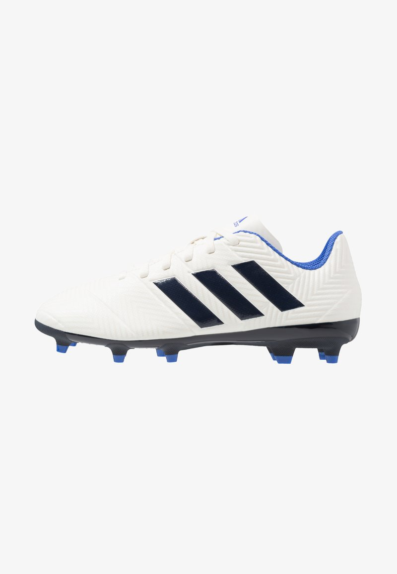adidas Performance - NEMEZIZ 18.4 FG - Fußballschuh Nocken - offwhite/legend ink/hi-res blue