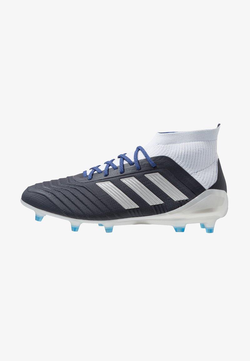 adidas Performance - PREDATOR 18.1 FG - Botas de fútbol con tacos - legend ink/silver metallic/aero blue