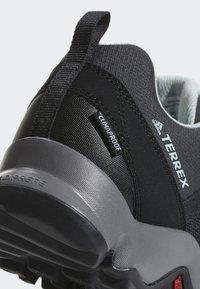 adidas Performance - TERREX AX2 CLIMAPROOF - Hiking shoes - black - 8