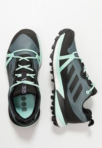 adidas Performance - TERREX SKYCHASER LT GORE TEX HIKING SHOES - Hiking shoes - ash grey/core black/clear mint - 1